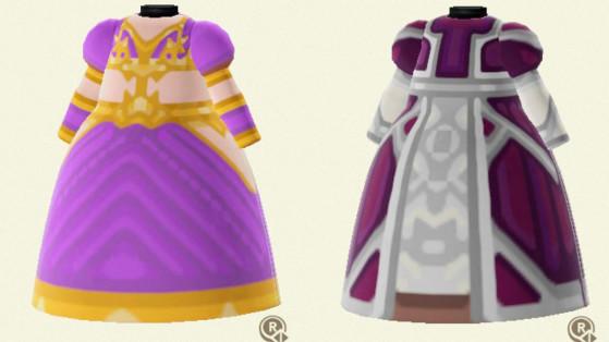 Des robes de World of Warcraft recréées et disponibles dans Animal Crossing : New Horizons