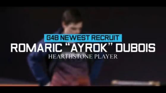 Hearthstone esports : AyRok fait son entrée chez Glory4Builders