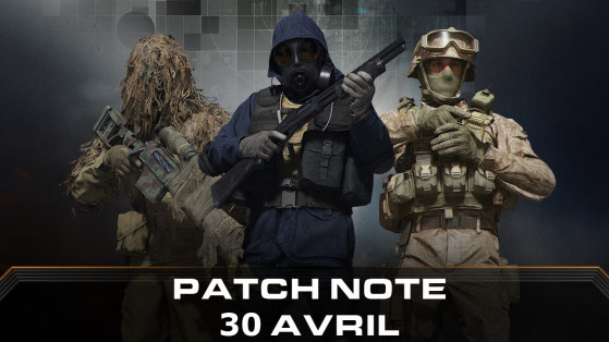 Call of Duty Modern Warfare Warzone : mise à jour playlist 30 avril, patch note PS4, Xbox One & PC