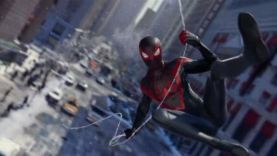 Spider-Man Miles Morales sur PS5 : une extension améliorée et non un jeu