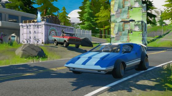 Fortnite : les voitures, infos et statistiques du nouveau véhicule