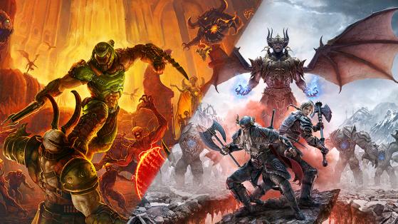 Bethesda annonce DOOM Eternal et The Elder Scroll Online sur PS5 et Xbox Series X