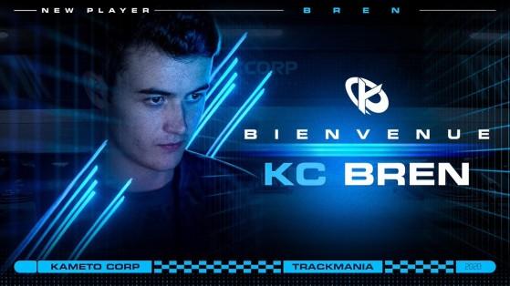 Trackmania : Bren rejoint le roster de la Kameto Corp