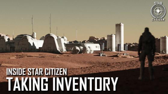 Inside Star Citizen : Emporter son inventaire