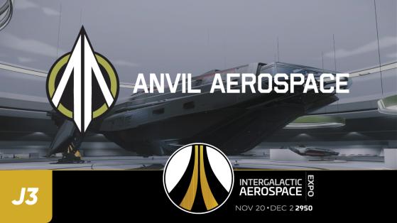 Star Citizen IAE : Vente Anniversaire jour 3 - Anvil