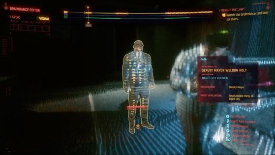 I Fought the Law, soluce Cyberpunk 2077 : V mène l'enquête !