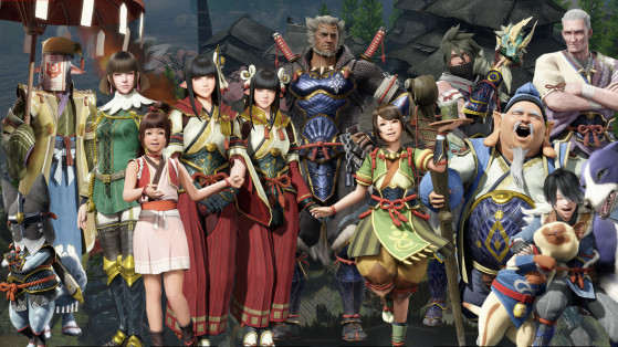 Personnages de Monster Hunter Rise, chouette, Hinoa