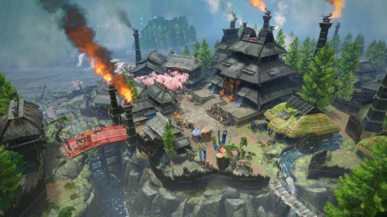 Monster Hunter Rise : Village de Kamura
