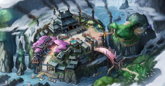 Concept art de Kamura - Monster Hunter Rise