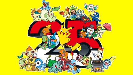 Récapitulatif des annonces pour les 25 ans de Pokémon