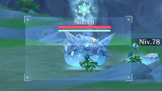 Genshin Impact : créature Bleue,