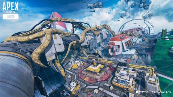 Le Complexe solaire a été durement touché par l'infection qui se propage sur Olympus. - Apex Legends