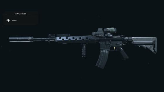 Quelle est la meilleure classe pour la M4A1 sur Warzone ?
