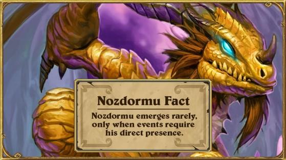Le 15 sera officiellement le jour de Nozdormu sur Hearthstone !