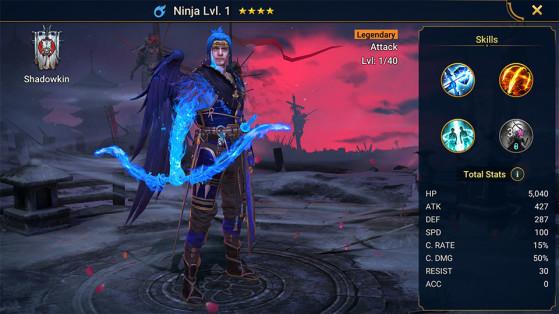 Ninja est un... ninja dans le jeu. La surprise est totale ! - Millenium