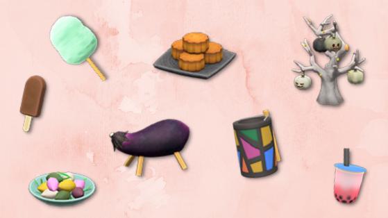Tous les nouveaux objets de la mise à jour 1.11 d'Animal Crossing New Horizons