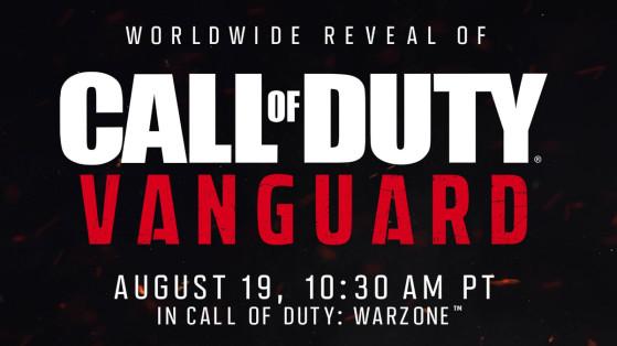 Call of Duty Vanguard devrait être annoncé cette semaine sur Warzone