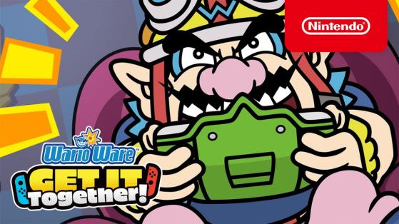 Test de Wario Ware Get It Together sur Nintendo Switch