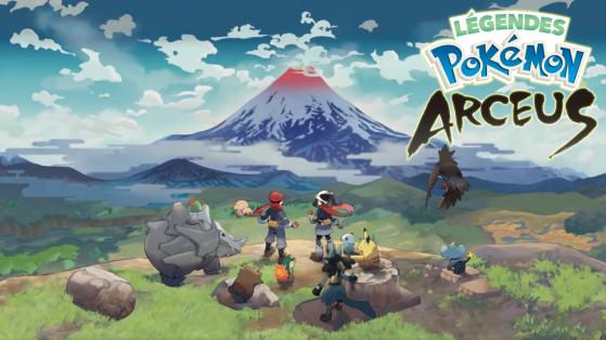 Une figurine offerte en précommande de Légendes Pokémon Arceus