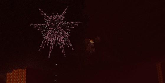 Snapshot 12w49a : Les feux d'artifice