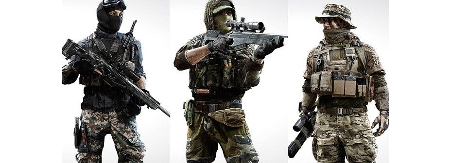 bf4 classe sniper recon armes millenium. Black Bedroom Furniture Sets. Home Design Ideas