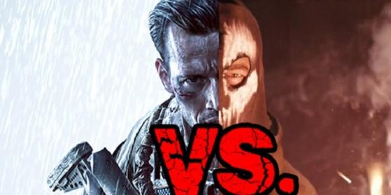Battlefield 4 vs Cod Ghosts parodie