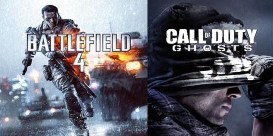 BF4 vs. Ghosts, la guerre est déclarée