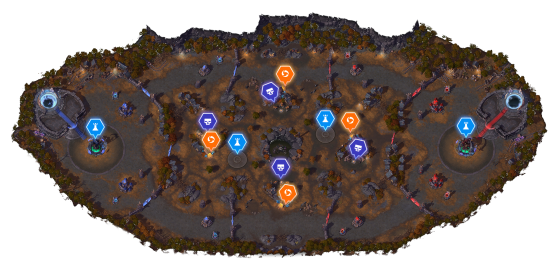 Champ de bataille - Heroes of the Storm