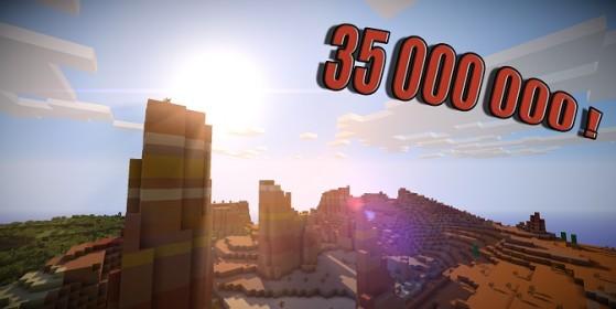 35 millions d'exemplaires de Minecraft