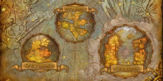 Cartes Warlords of Draenor