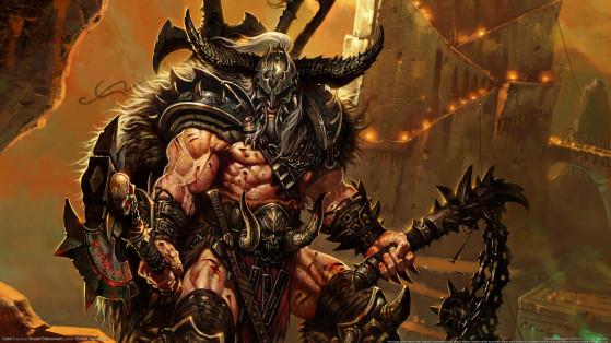 Diablo 3 : Build Barbare épines, héritage des cauchemars, hors-set