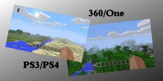 Comparaison PS3/PS4 et 360/ONE