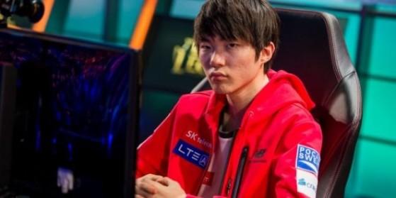 Faker reste chez SK Telecom