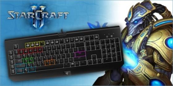Les raccourcis claviers sur Starcraft 2