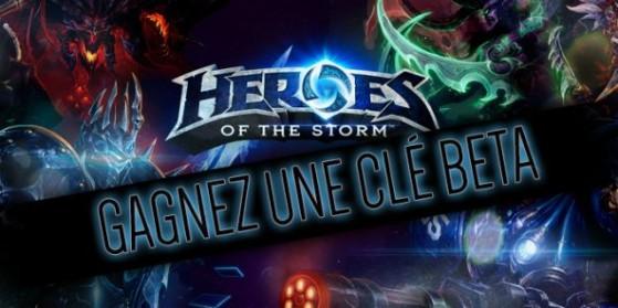 Gagnez des clefs bêta Heroes of the Storm