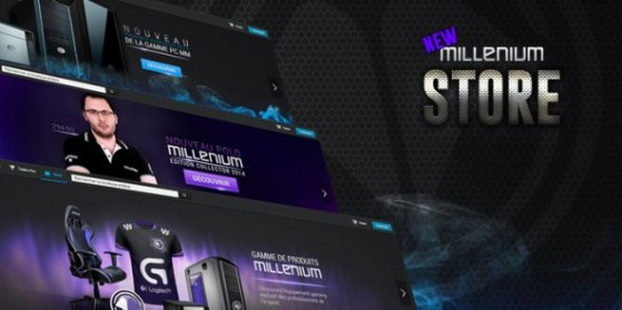 Nouveau Store pour Millenium