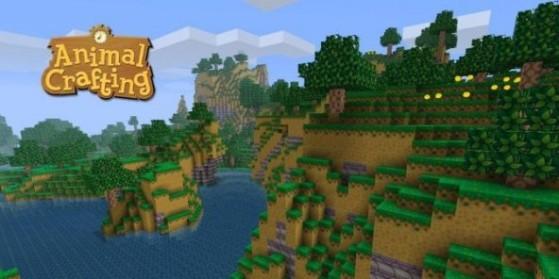 Un jeu Minecraft Animal Crossing