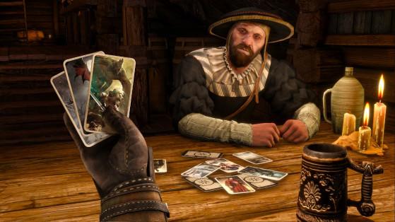 The Witcher 3 : liste et position des cartes de Gwynt