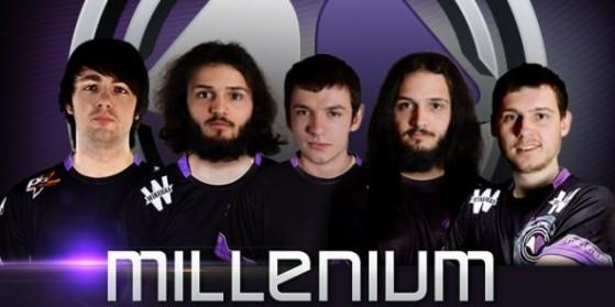 Nouvelle line-up Millenium LoL - 12/06/2015