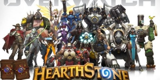Des héros d'Overwatch dans Hearthstone?