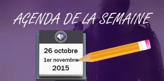 CoD AW : Agenda de la semaine - 26/10/2015