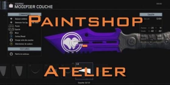 Black Ops 3 : Paintshop, l'atelier