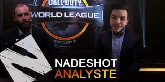 Nadeshot analyste aux finales CWL NA