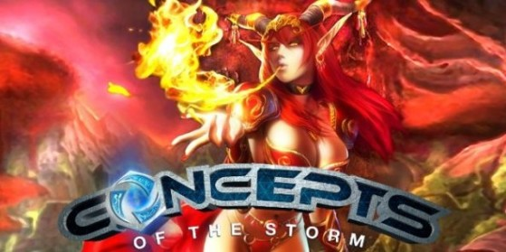HotS - Concepts of the Storm n°24 : Alexstrasza
