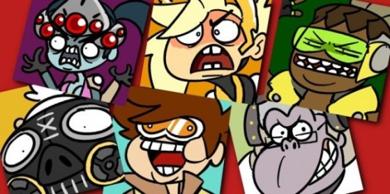 Overwatch Icones héros rigolos