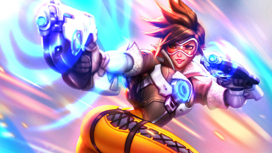 Heroes of the Storm : Guide Tracer, Build harass