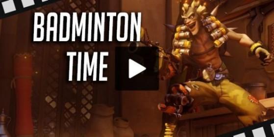 Une partie de Badminton dans Overwatch !