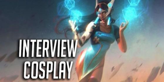 Overwatch, Interview cosplayeuse Symmetra