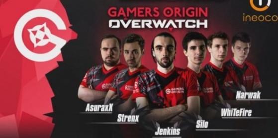 Overwatch, équipe GamersOrigin