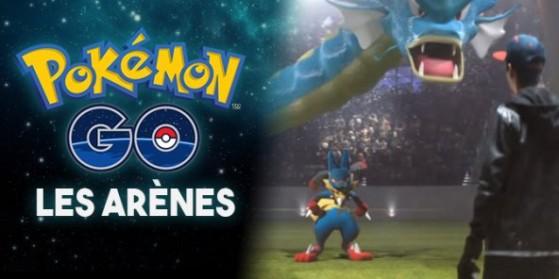 Les arènes dans Pokémon GO